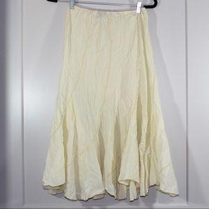 American Colors cream skirt